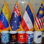 چاپ پرچم رومیزی – چاپ لیوان – چاپ لباس – چاپ پرچم تشریفات