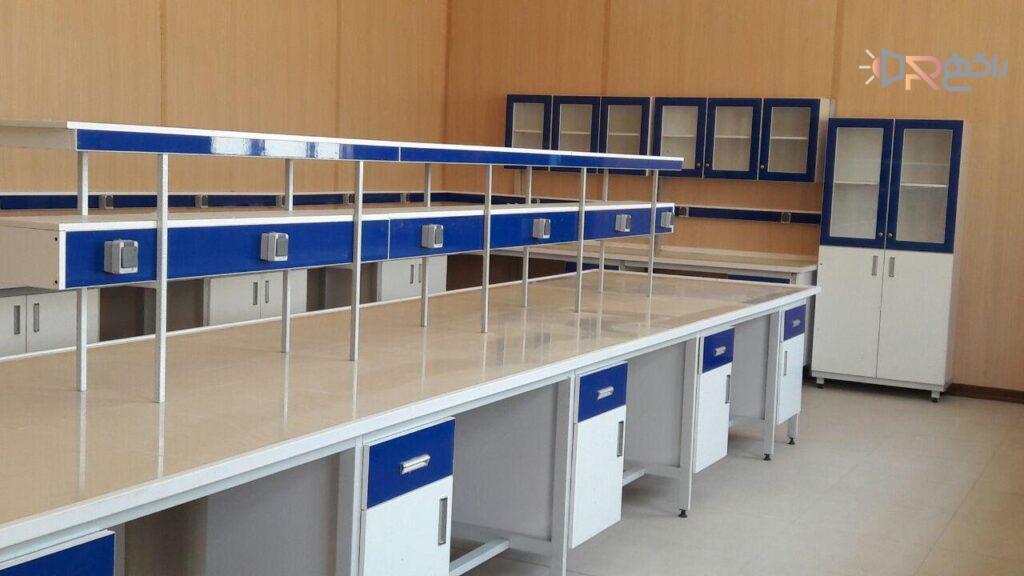 سکوبندی آزمایشگاه شرکت به آزماسکوسامان
