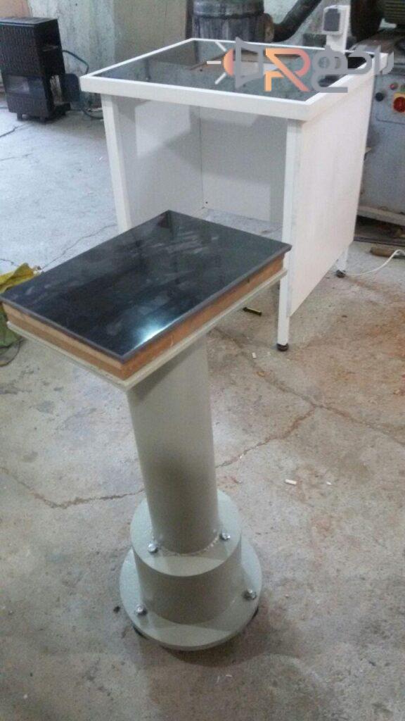 میزهای ضد لرزش (میز ترازو ) به آزماسکوسامان